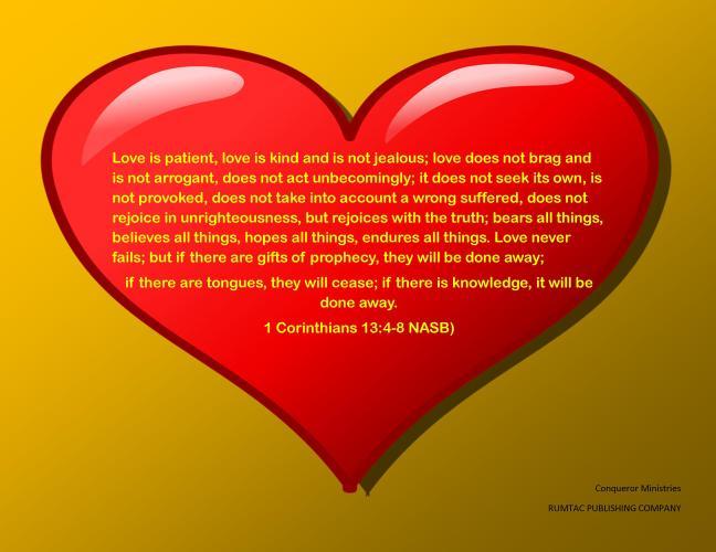 I Corinthians 13 Graphic